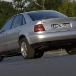 Stylistyka leciwego Audi wciąż ma się dobrze i skutecznie przyciąga uwagę innych użytkowników drogi