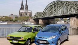 Ford Fiesta Mk1 i Mk7