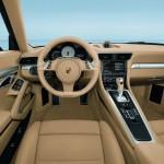 Porsche 911 Carrera wnętrze