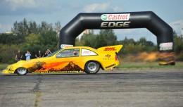 Corvette  4x4 turbo jedzie pełnym ogniem