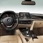 BMW 3 wnętrze