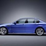 BMW M5 profil boczny
