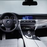 BMW M5 wnętrze
