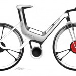 Ford E-Bike szkic