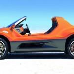 VW Buggy profil boczny